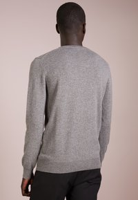 pure cashmere - MENS CREW NECK SWEATER - Strikkegenser - grey - 2