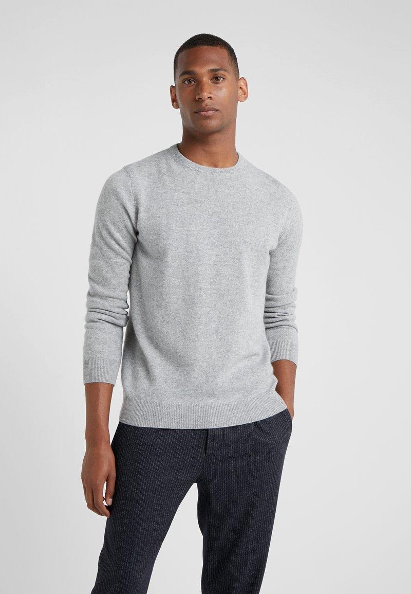 pure cashmere - MENS CREW NECK SWEATER - Jumper - light grey