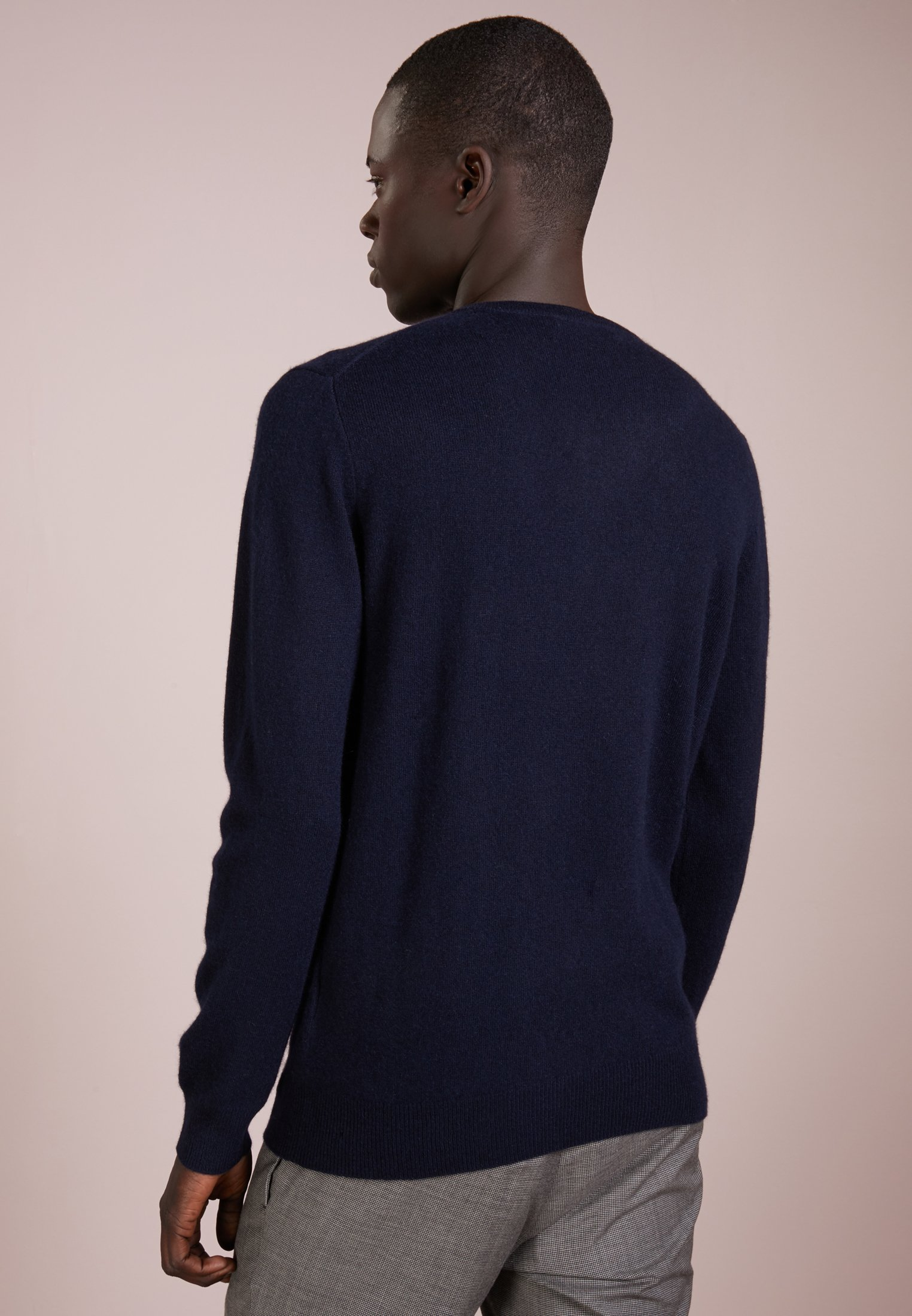 Pure Cashmere Dark Neck SweaterPullover Navy Crew Mens rdCQhts