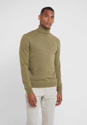 TURTLENECK  - Strikkegenser - olive