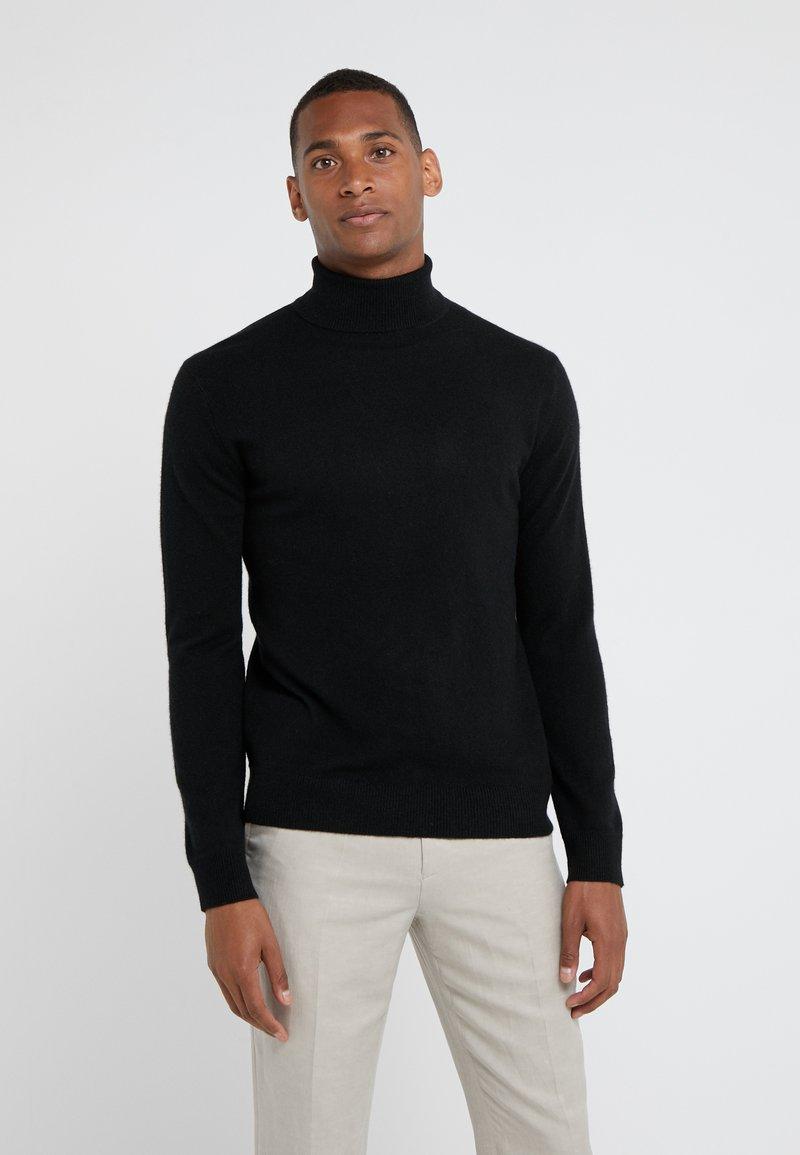 pure cashmere - TURTLENECK  - Strikkegenser - black