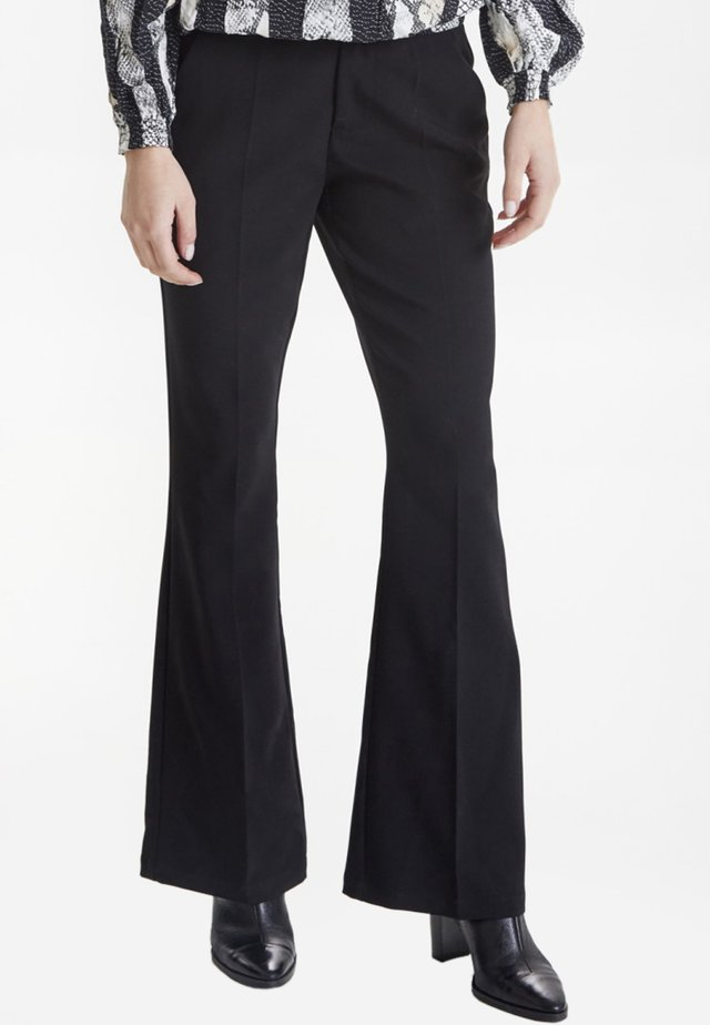 PZCAYLA - Trousers - black