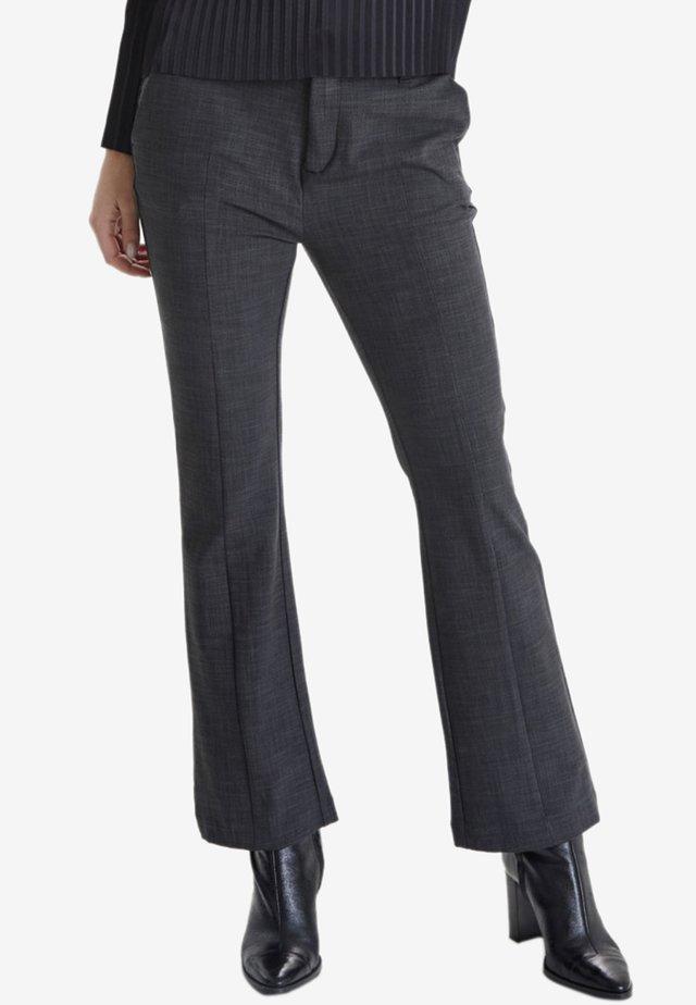 PZCATTY  - Trousers - dark grey melange
