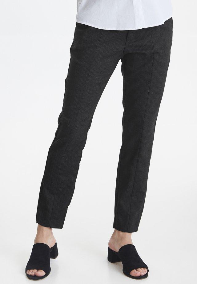 PZCLARA - Trousers - medium grey melange