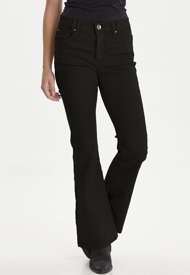 PZRITA  - Flared jeans - black beauty