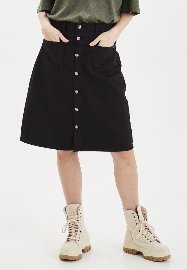 DITTE - A-snit nederdel/ A-formede nederdele - black beauty