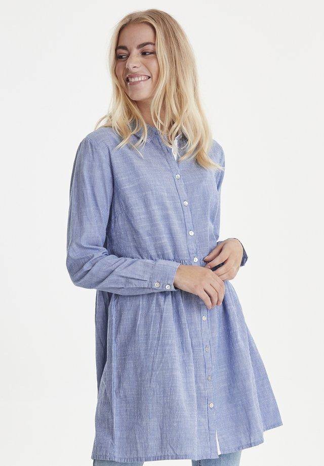 PZLYNE - Button-down blouse - classic blue