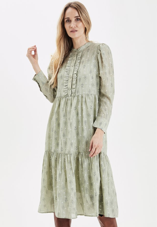 PXMINTY - Shirt dress - mint
