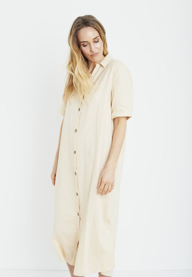 PZBIANCA - Shirt dress - brazilian sand