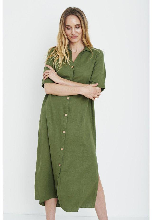 PZBIANCA - Shirt dress - olivine