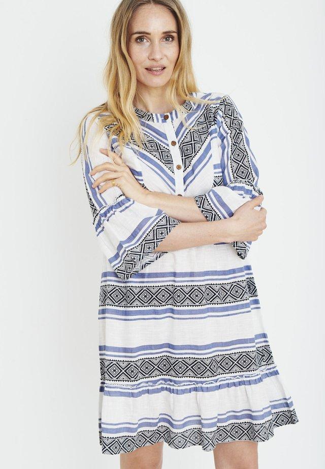 PZKATINKA  - Korte jurk - delft blue