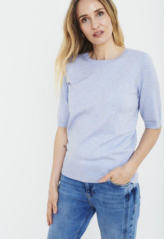 PXSARA - T-shirts print - kentucky blue melange