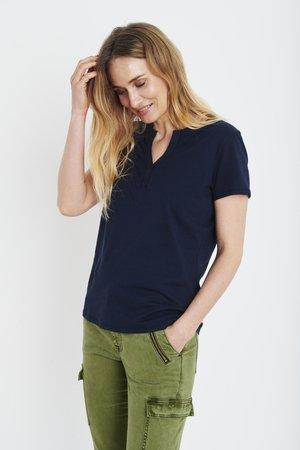 PZAMABELLA - T-shirts basic - dark sapphire