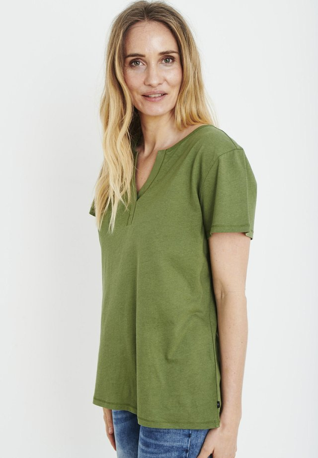PZAMABELLA - T-shirts basic - olivine