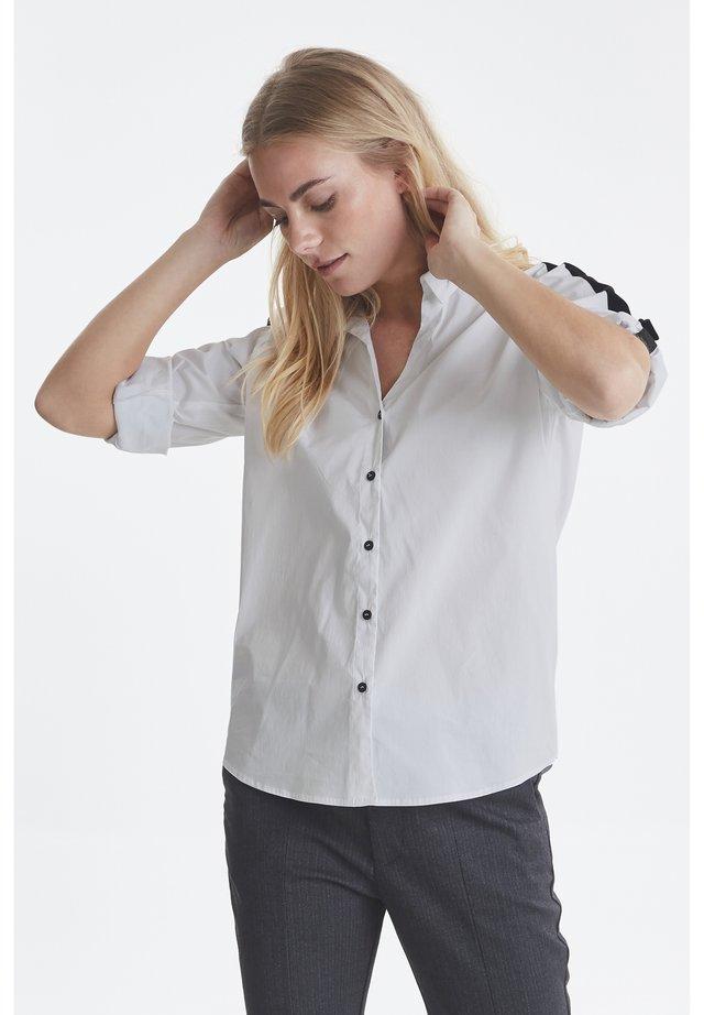 PZLONE - Skjorta - optical white