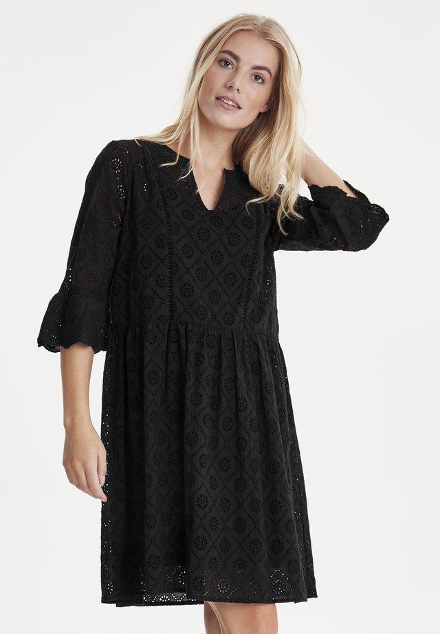 PZMARIELLA - Korte jurk - black beauty
