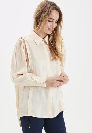 PULZ PXVERONIA  - Button-down blouse - brazilian sand