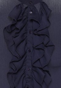PULZ - PXSTARBLUE SHIRT - Button-down blouse - dark sapphire - 7