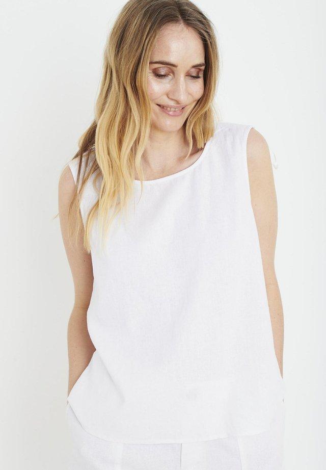 PZBIANCA - Bluser - bright white