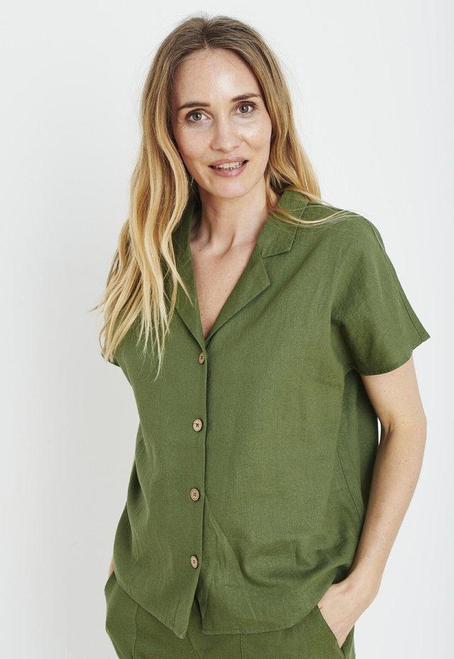 PZBIANCA - Skjortebluser - olivine