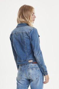 PULZ - PZSIRA  - Denim jacket - light blue denim - 2