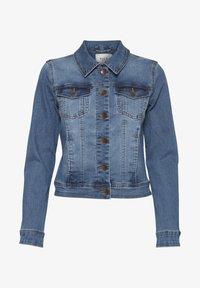 PULZ - PZSIRA  - Denim jacket - light blue denim - 5