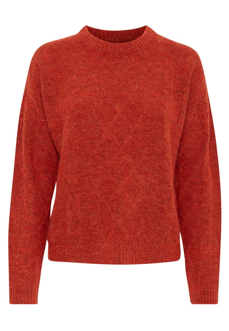 PULZ PZZOE - Sweter - red
