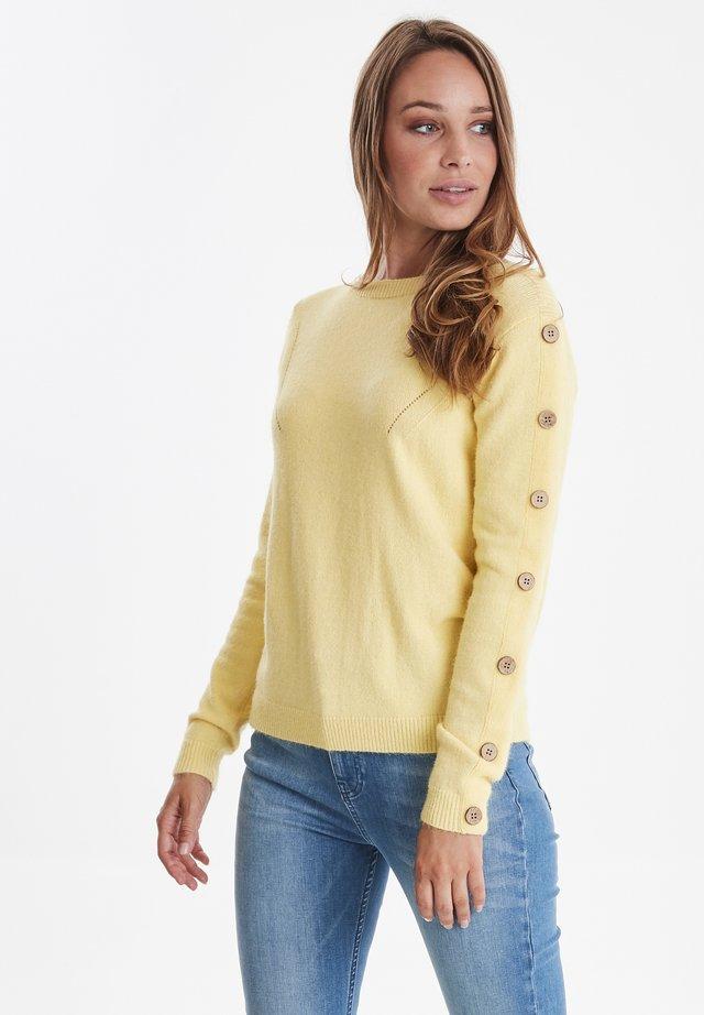 PZLIZA - Jersey de punto - mellow yellow