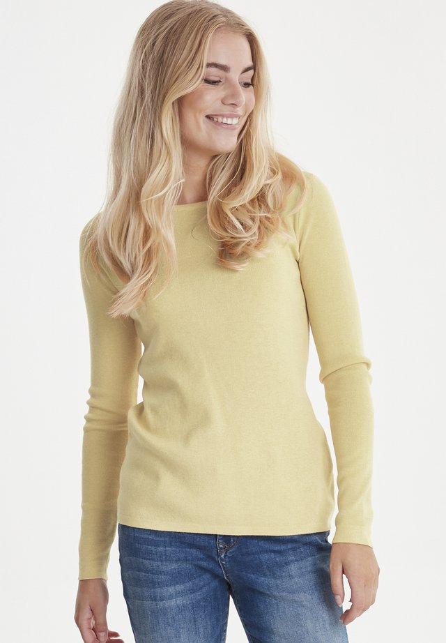 Jersey de punto - mellow yellow