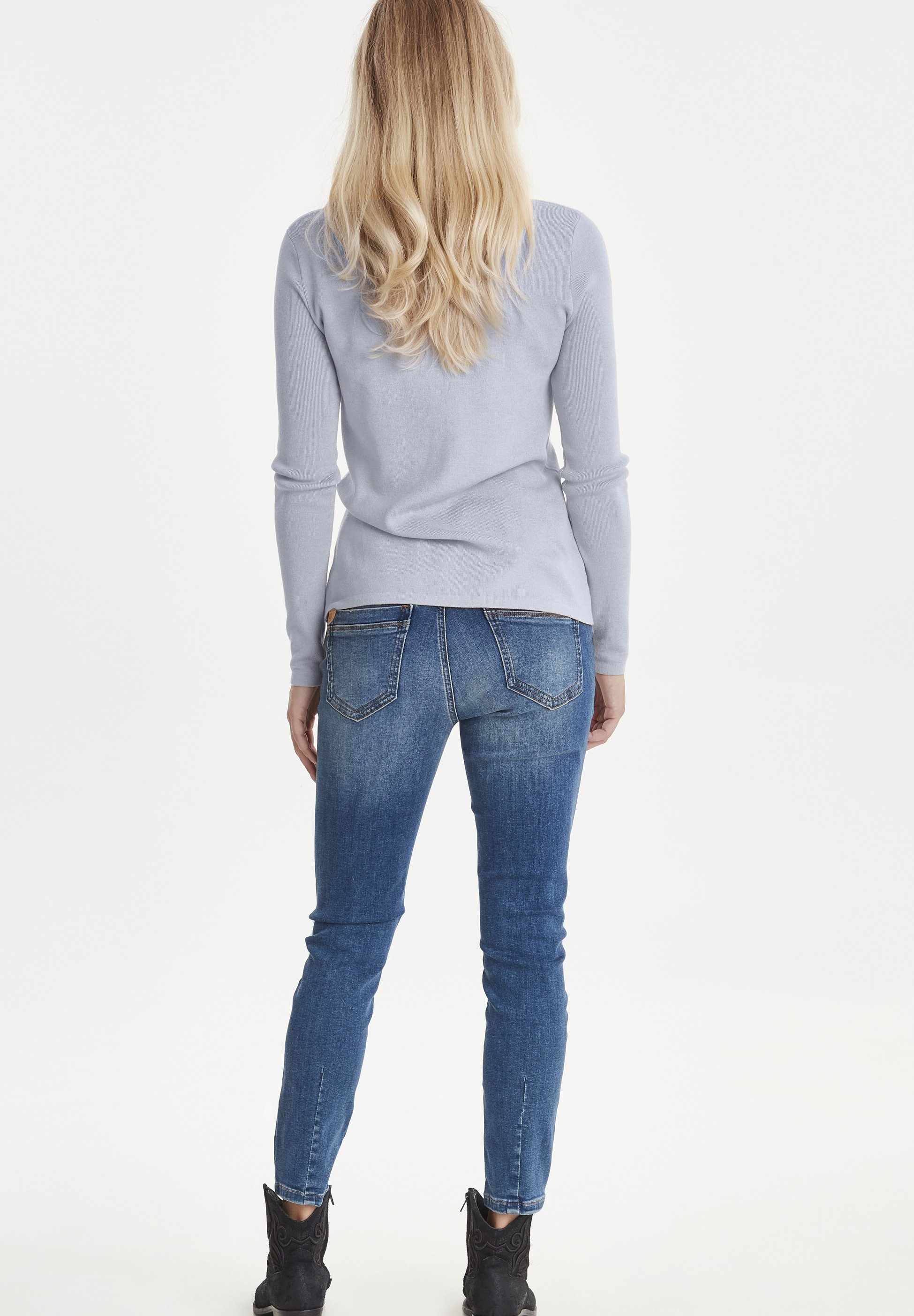 PULZ PZSARA  - Sweter - light blue