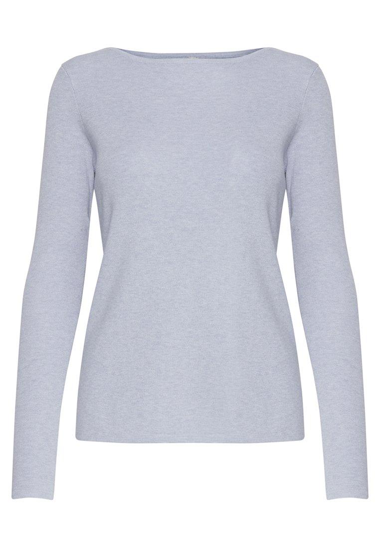 PULZ PZSARA - Sweter - light blue