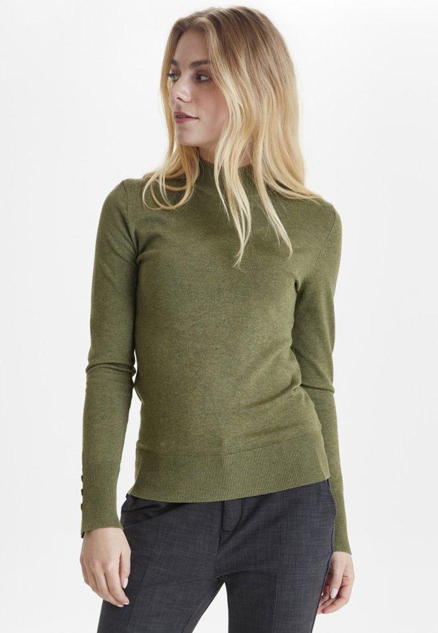 Jersey de punto - crocodile green