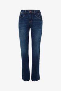 PULZ - KAROLINA HIGHWAIST - Jeans Straight Leg - medium blue - 4