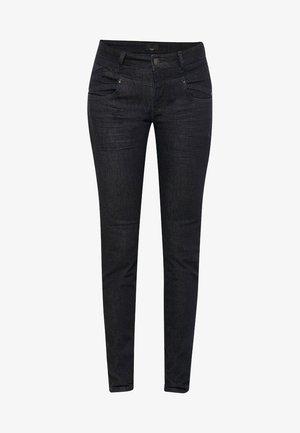 CARMEN HIGHWAIST - Jeans Skinny - blue/black