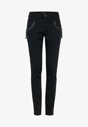 CARMEN HIGHWAIST SKINNY - Jeans Skinny - black denim