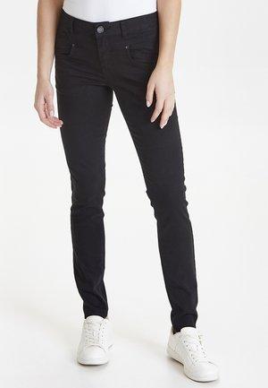 CARMEN HIGHWAIST SKINNY - Jeans Skinny - black