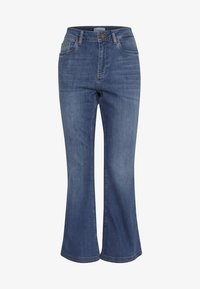 PULZ - PZLIVA - Jeans Bootcut -  blue - 5