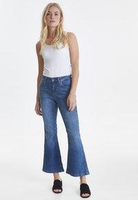 PULZ - PZLIVA - Jeans Bootcut -  blue - 1