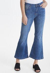 PULZ - PZLIVA - Jeans Bootcut -  blue - 0