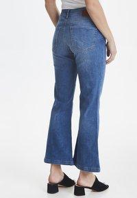 PULZ - PZLIVA - Jeans Bootcut -  blue - 3