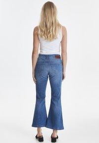 PULZ - PZLIVA - Jeans Bootcut -  blue - 2