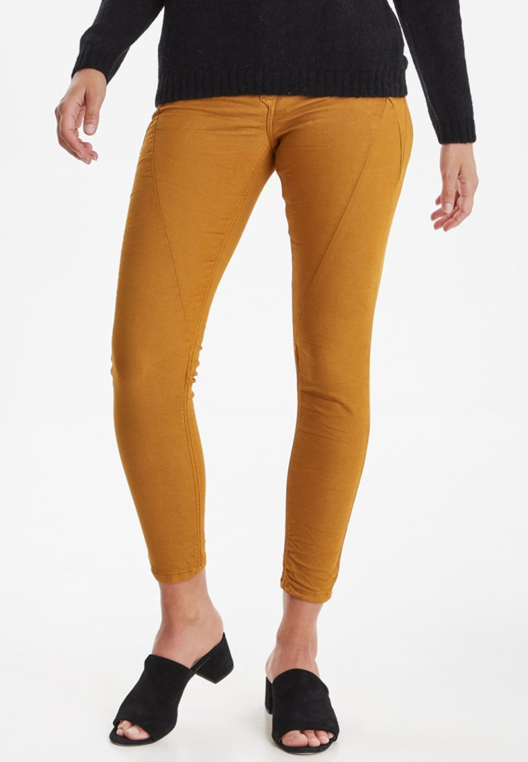PULZ - PZROSITA - Jeans Skinny Fit - yellowstone