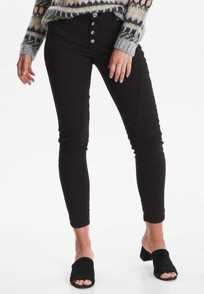 PULZ - PZROSITA - Jeans Skinny Fit - black beauty