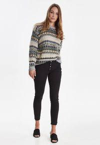 PULZ - PZROSITA - Jeans Skinny Fit - black beauty - 1