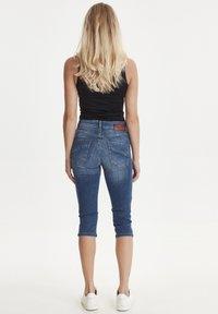 PULZ - PZCARMEN - Jeans Short / cowboy shorts - medium blue denim - 3