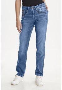 PULZ - PZKAROLINA - Jeans Slim Fit - medium blue denim - 0