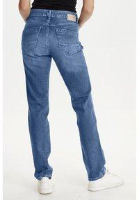 PULZ - PZKAROLINA - Jeans Slim Fit - medium blue denim - 2