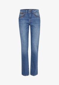 PULZ - PZKAROLINA - Jeans Slim Fit - medium blue denim - 4