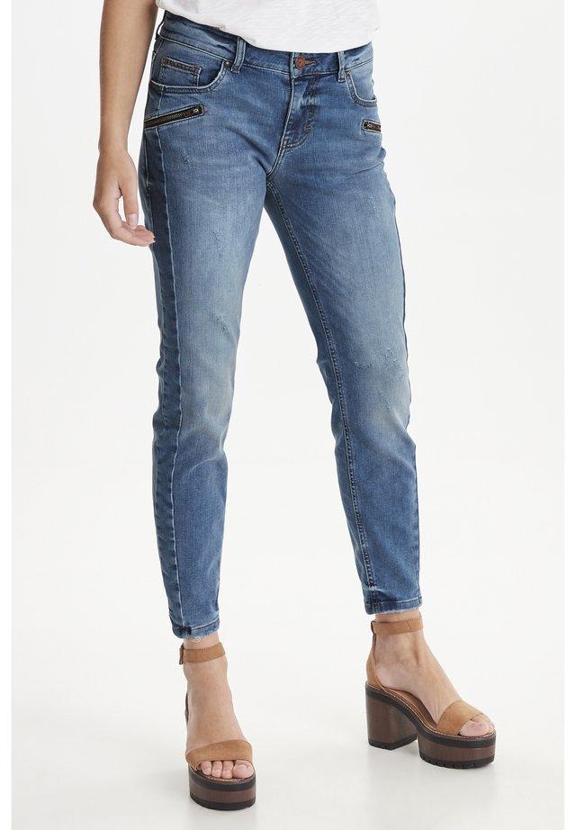 PZANNA - Jeans Slim Fit - medium blue denim