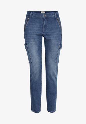 PXELVA - Jean slim - medium blue denim